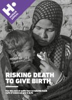 Risking death to give birth