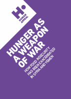 Hunger as a weapon of war