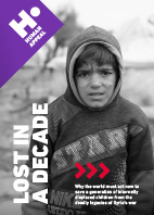 Lost in a Decade - Why the world must act now to save a generation of internally displaced Syrian children
