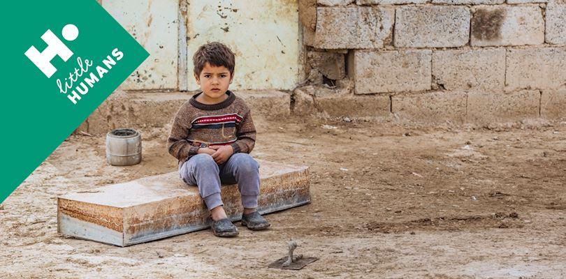 Little orphan boy