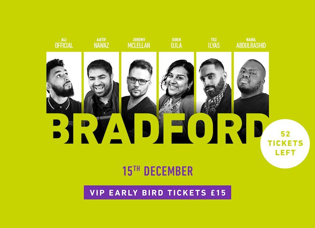 Comedy Show 2019 - Bradford VIP Tickets