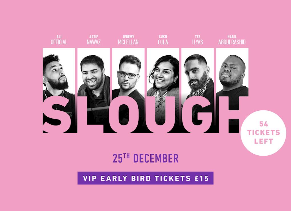 Comedy Show 2019 - Slough VIP Tickets