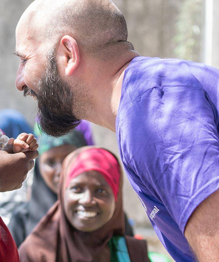 Rizwan Hussain, Human Appeal Multimedia Specialist.