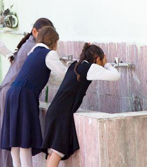 School Washroom For Girls