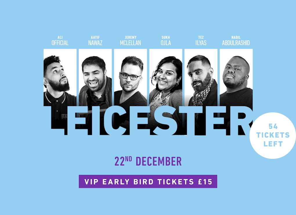 Comedy Show 2019 - Leicester VIP Tickets