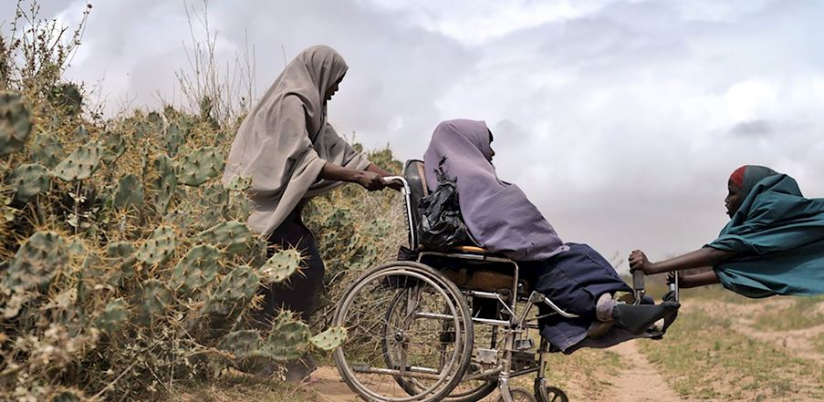 Wheelchair - Somalia/Kenya