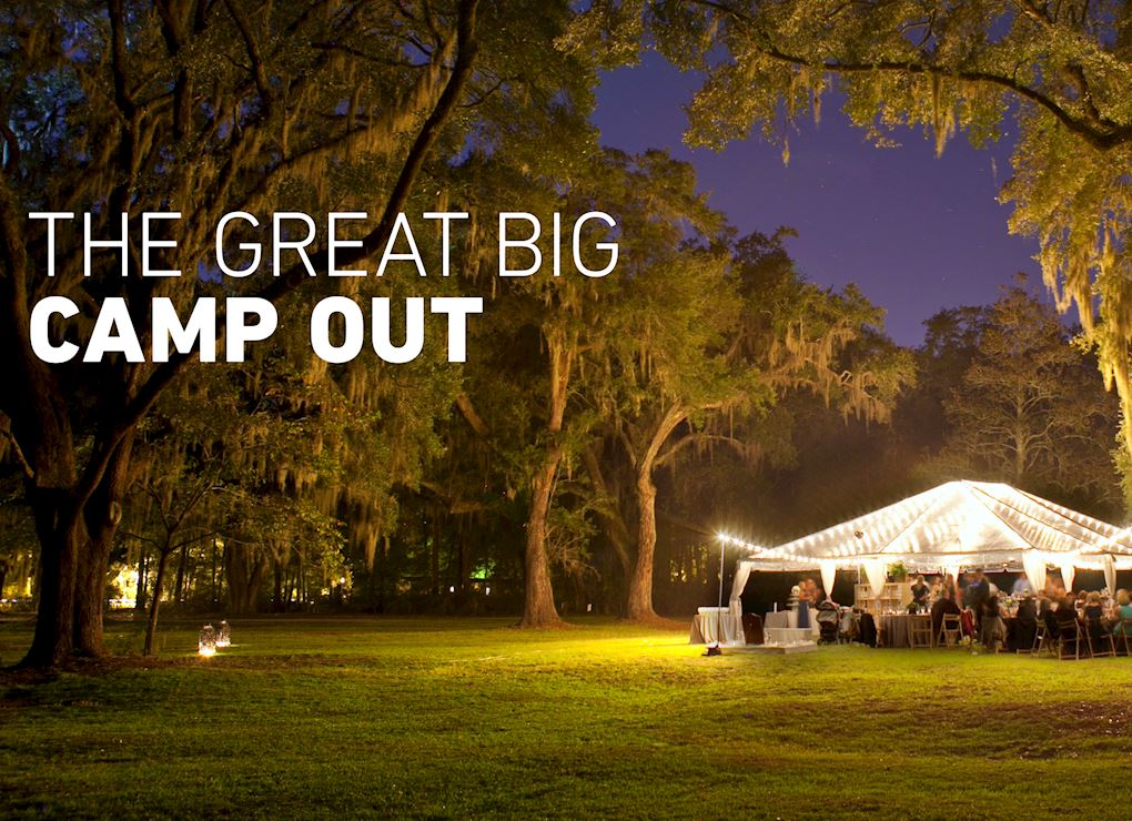 The Great Big Camp Out, London, 1st September