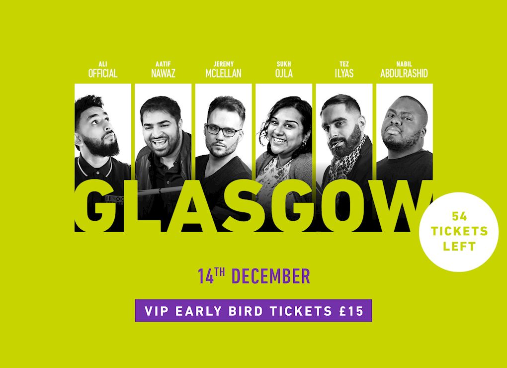 Comedy Show 2019 - Glasgow VIP Tickets