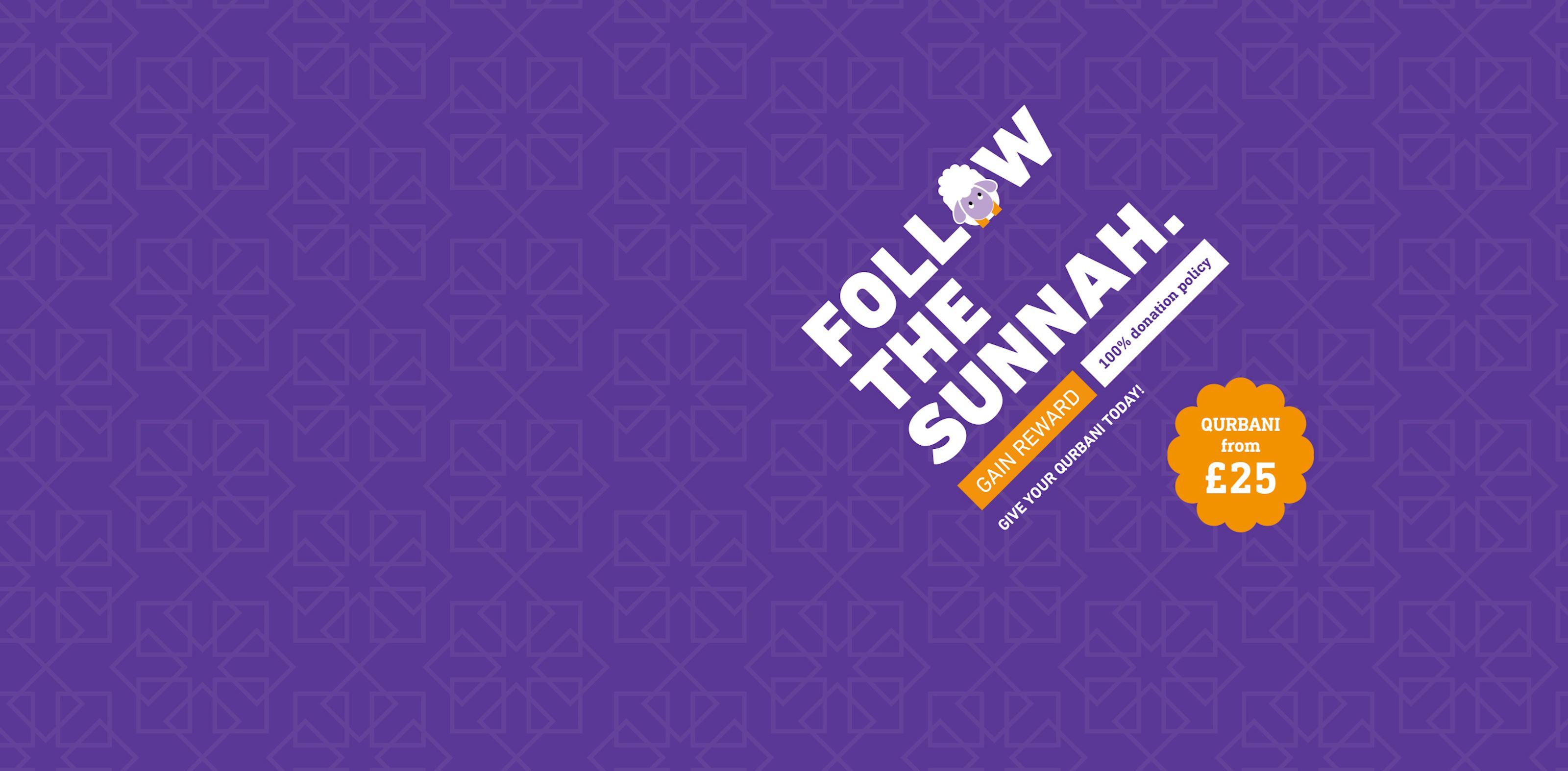 Qurbani - Follow the Sunnah