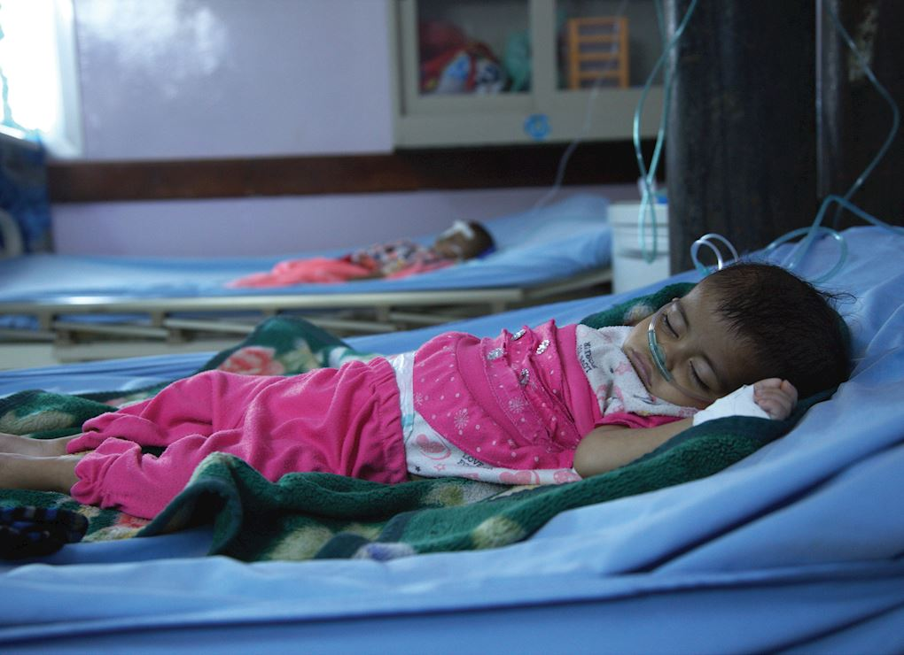 Yemen 5 Health Facilities and 1 Cancer Treatment Centre
