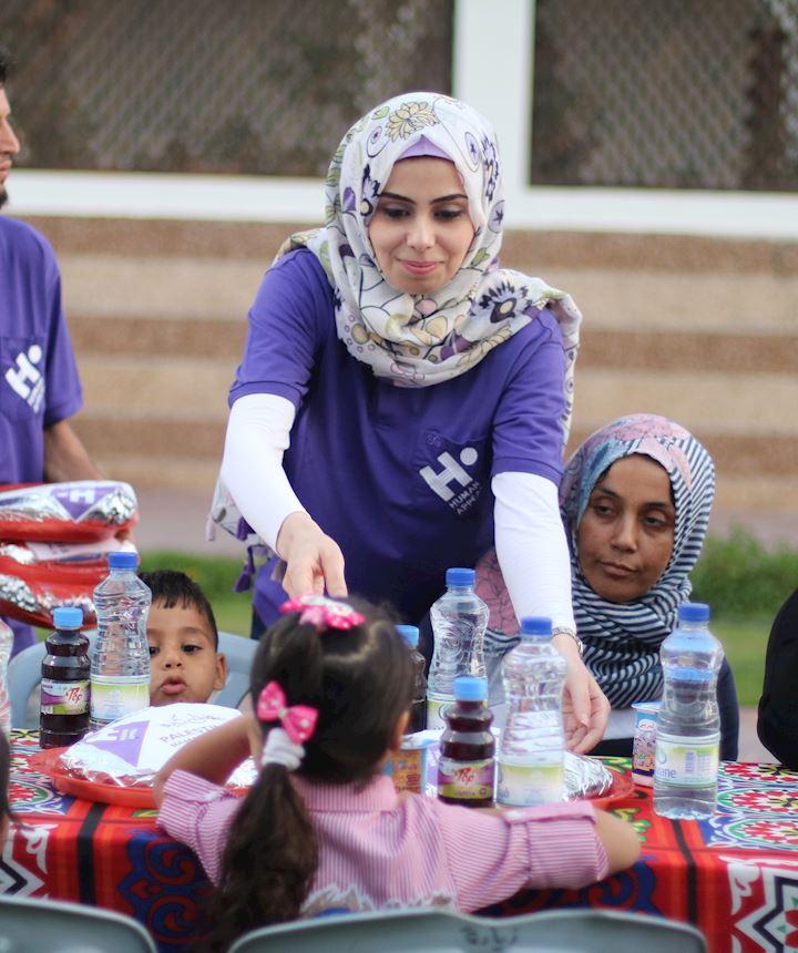 Noor, HR Officer in Palestine