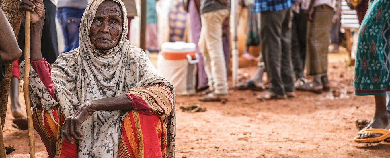 Somalian lady