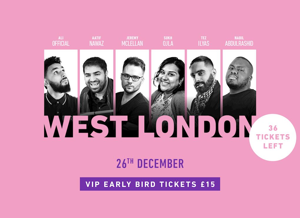 Comedy Show 2019 - West London VIP Tickets