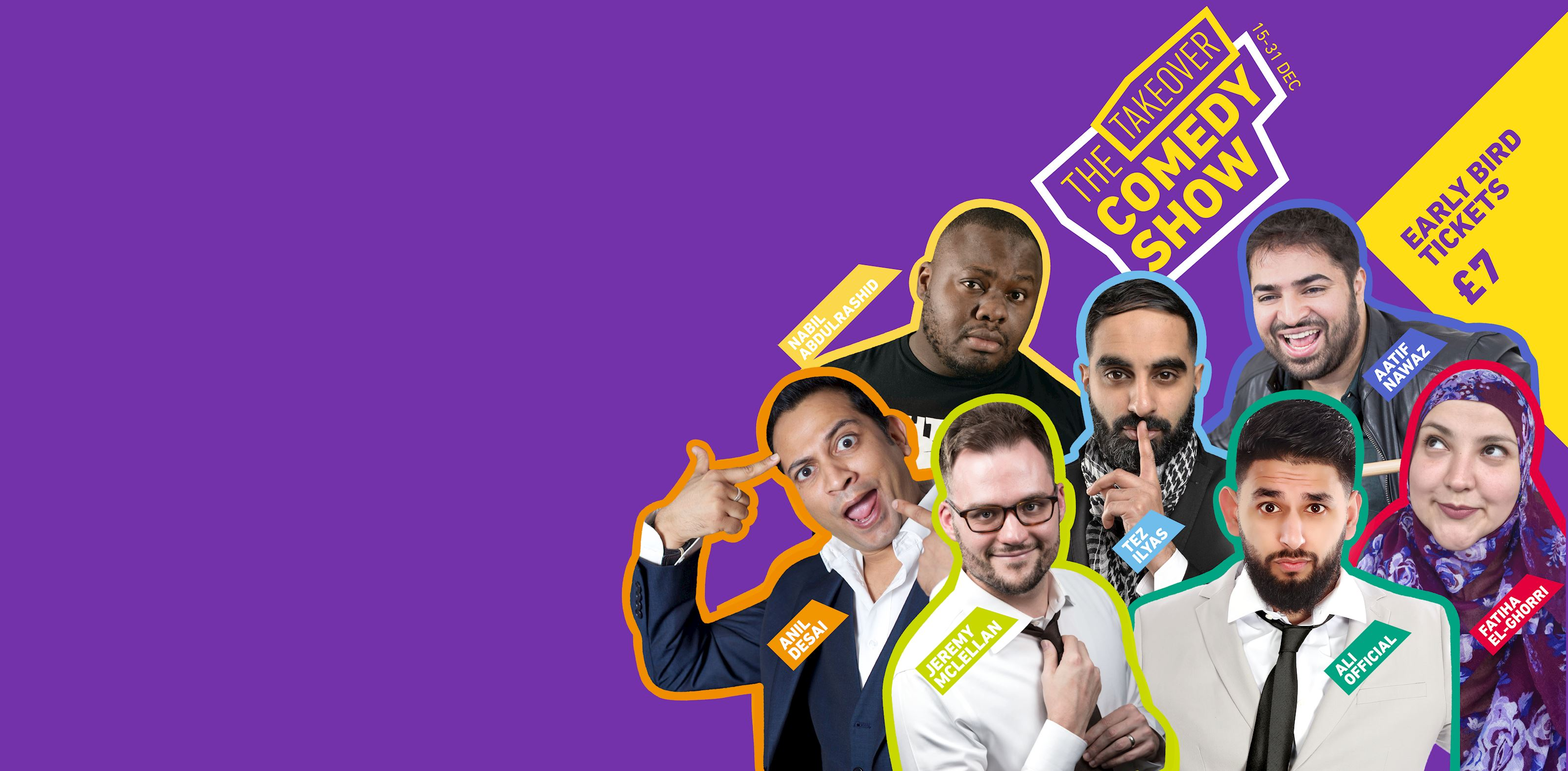 The Takeover Comedy Show 2018