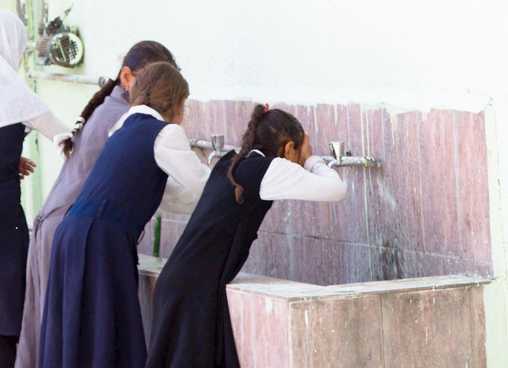 Washroom For Girls School