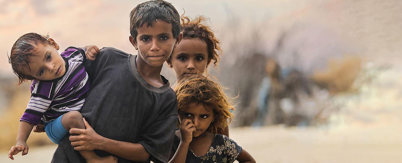 young children in yemen