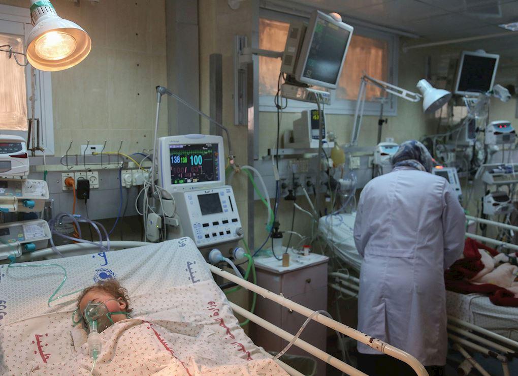 Gaza Hospital Water Units