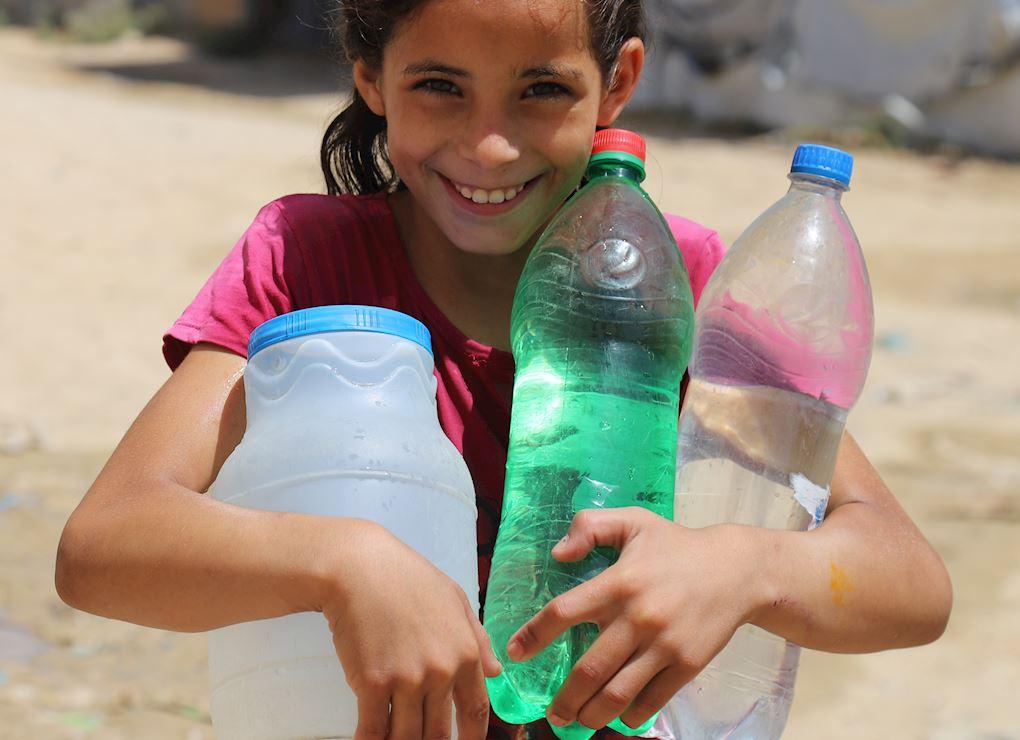 Gaza Desalination & Water Tank
