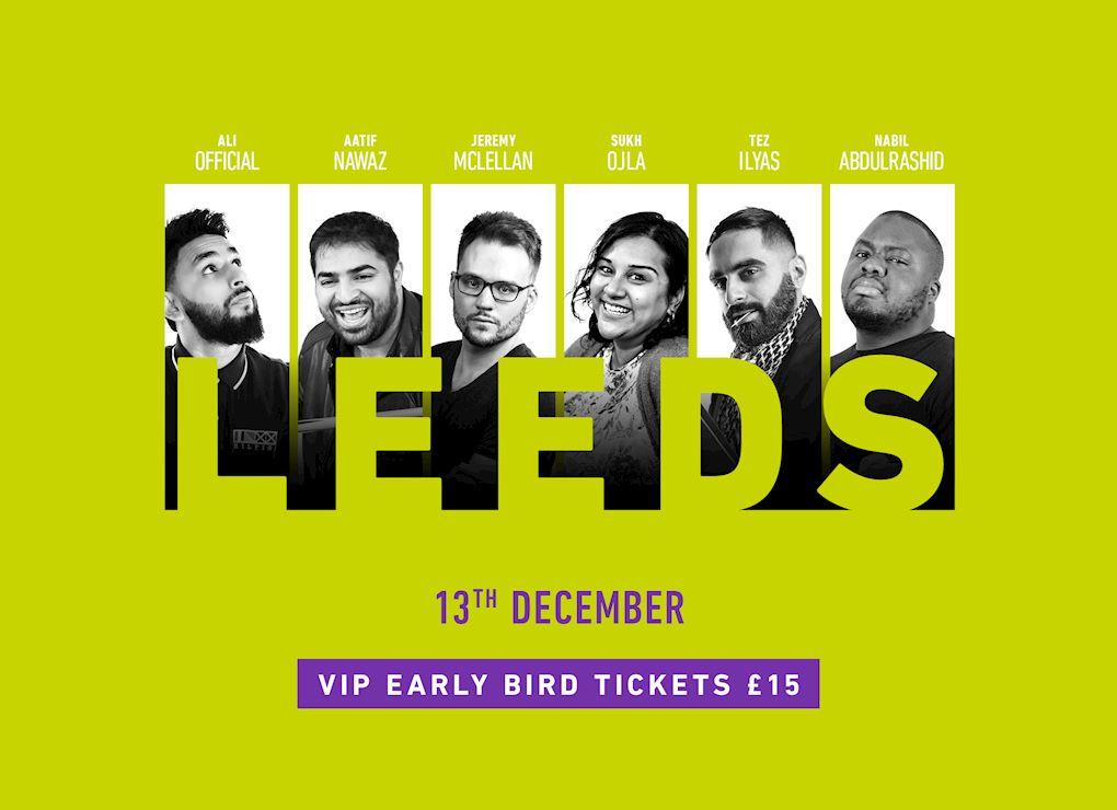 Comedy Show 2019 - Leeds VIP Tickets