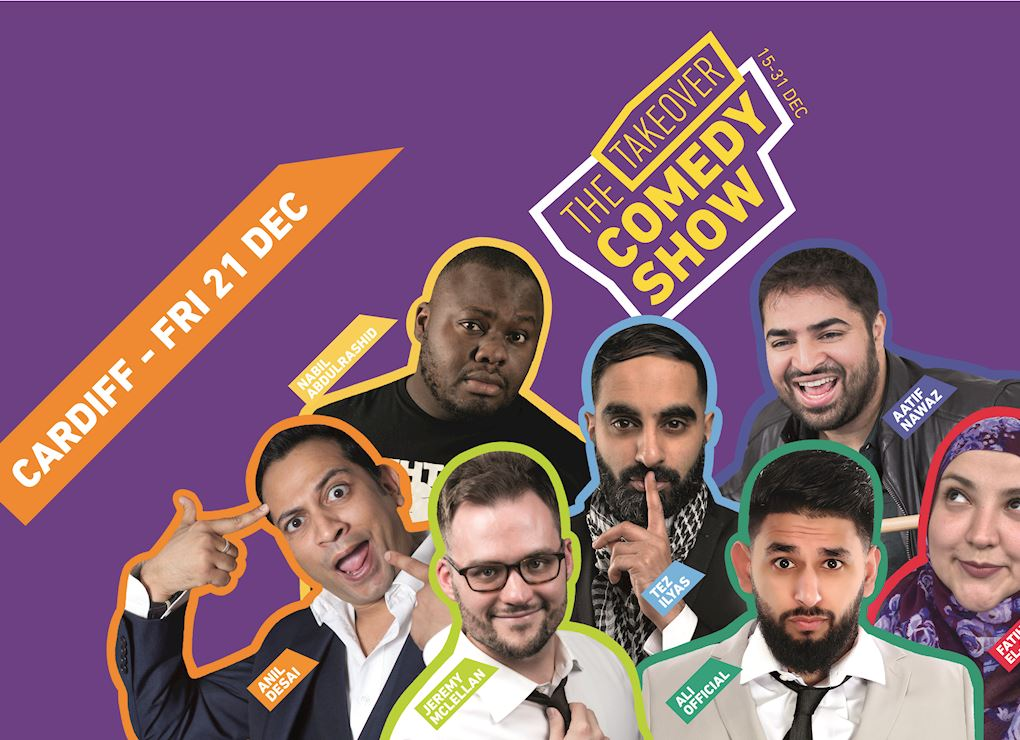 Comedy Tour 2018 - Cardiff Early Bird