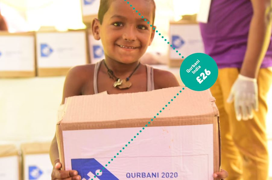 Qurbani - India £26 (Cow share)