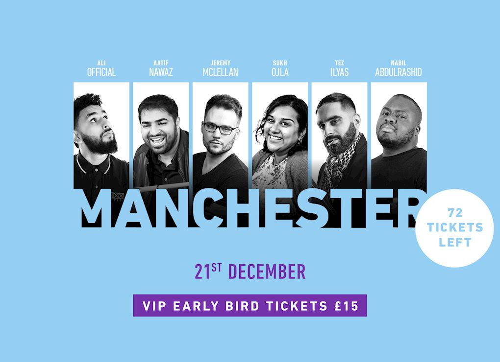 Comedy Show 2019 - Manchester VIP Tickets