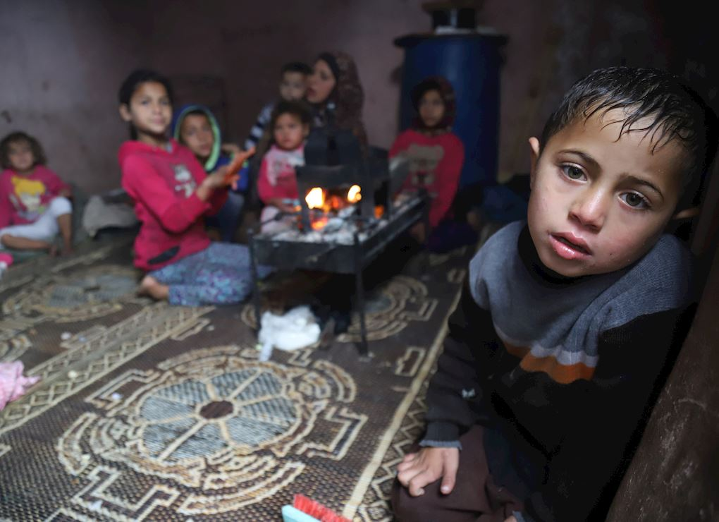 Feed a fasting family in Gaza with fresh food