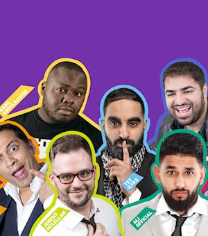 Comedy Tour 2018 - BlackburnEarly Bird