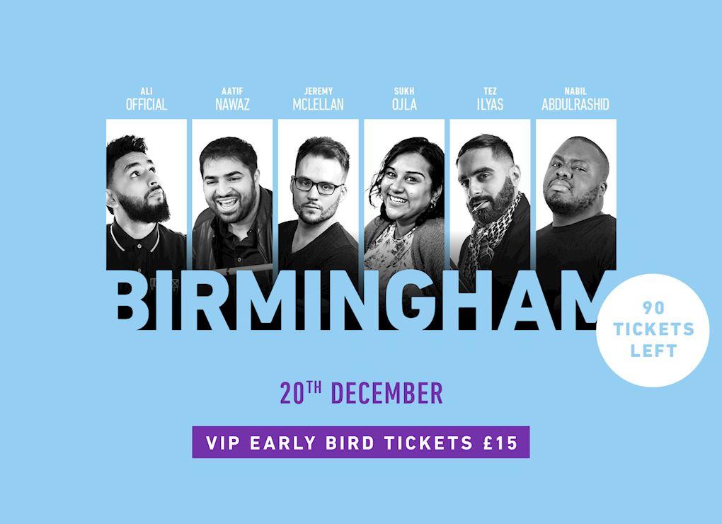 Comedy Show 2019 - Birmingham VIP Tickets