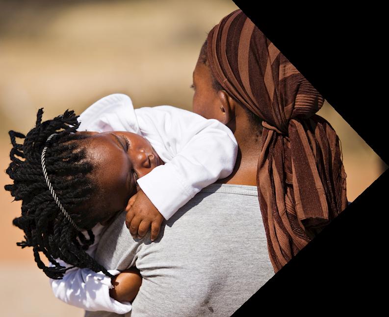 somolina lady with child